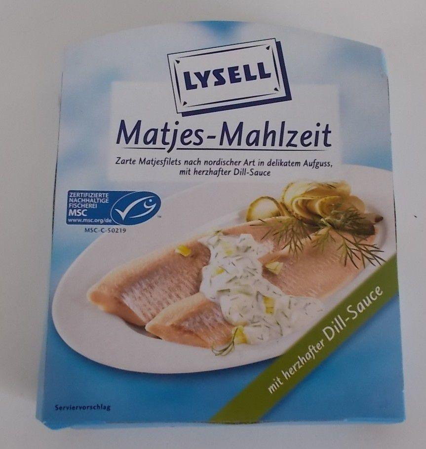 Lysell Matjes-Mahlzeit mit Dill-Sauce