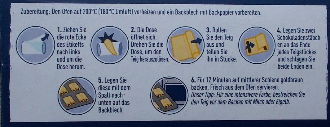 Knack & Back Schoko-Brötchen