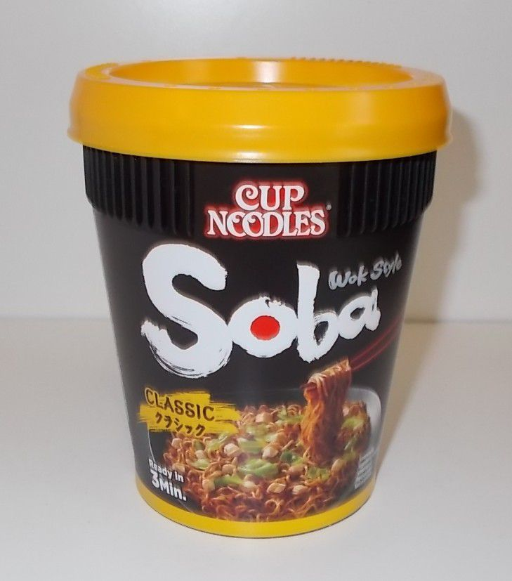 Nissin Cup Noodles Soba Wok Style Classic