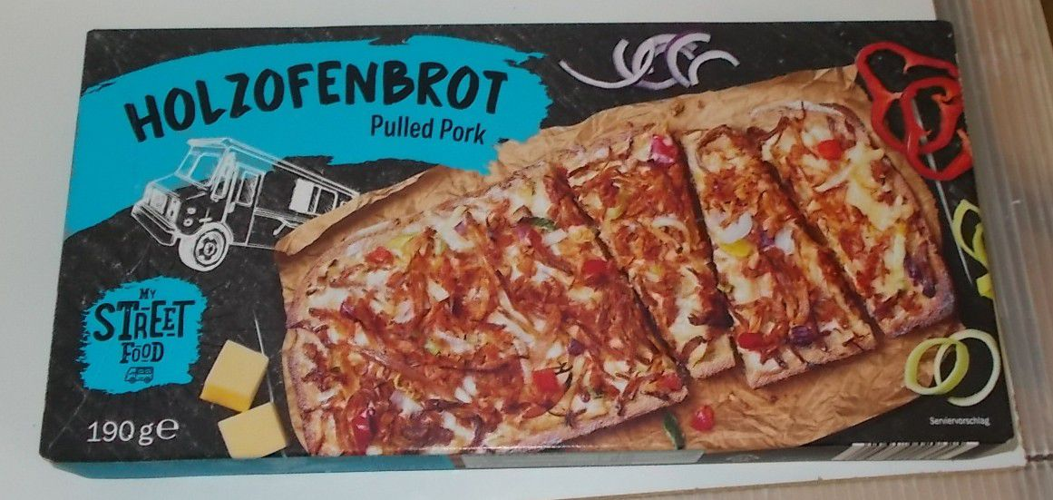 [Lidl] My Streetfood Holzofenbrot Pulled Pork
