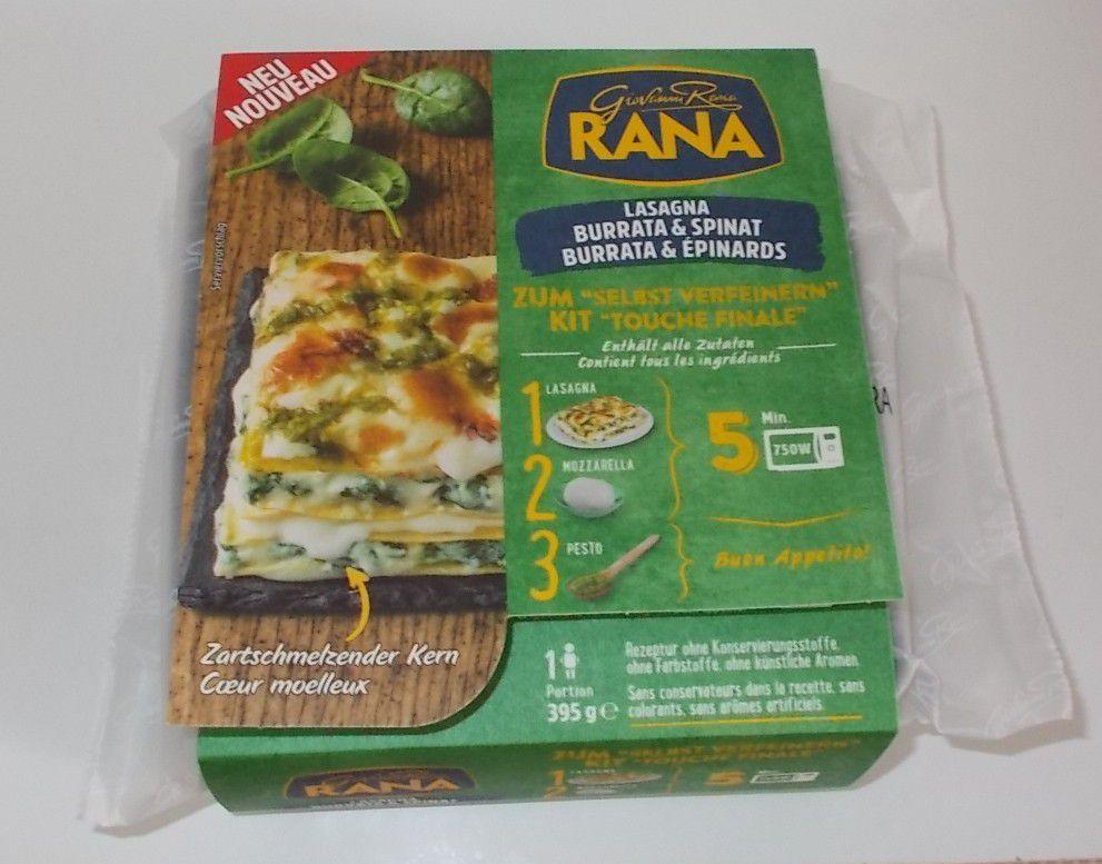 Rana Lasagna Burrata & Spinat