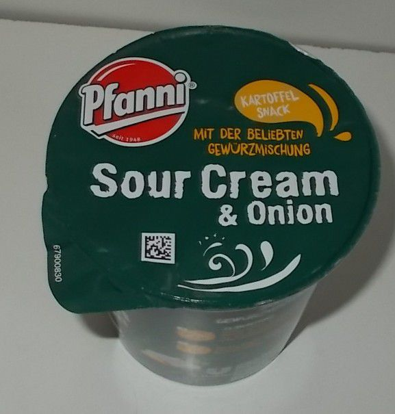 Pfanni Kartoffel Snack Sour Cream & Onion