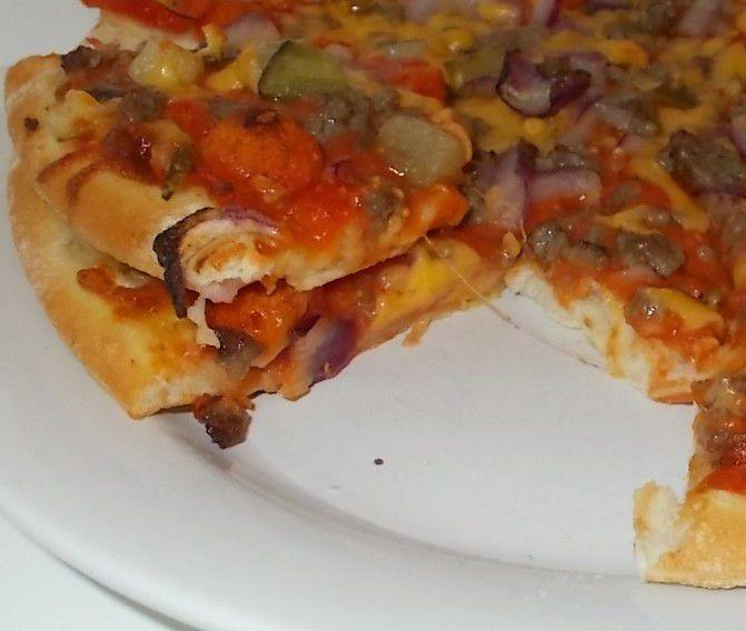 [Edeka] Gut & Günstig Cheeseburger Pizza