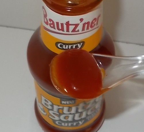 Bautz'ner Brutzel Sauce Curry ideal für Currywurst