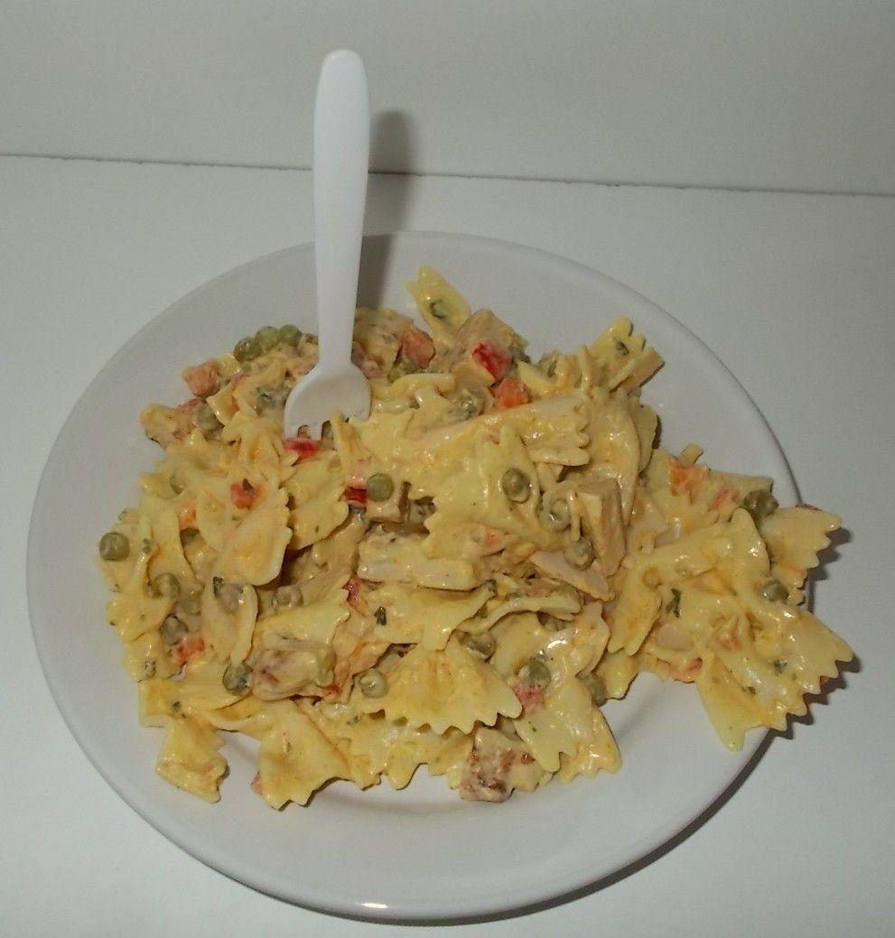 [Aldi] Snack Time Pasta-Salat Hähnchen mit Farfalle