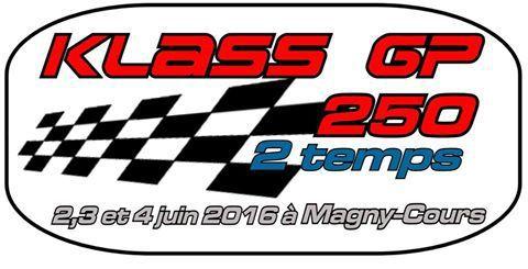 A l'occasion des 12 h de Magny-Cours, le Klass GP 250 2 temps, il va y avoir du spectacle ! #KlassGP