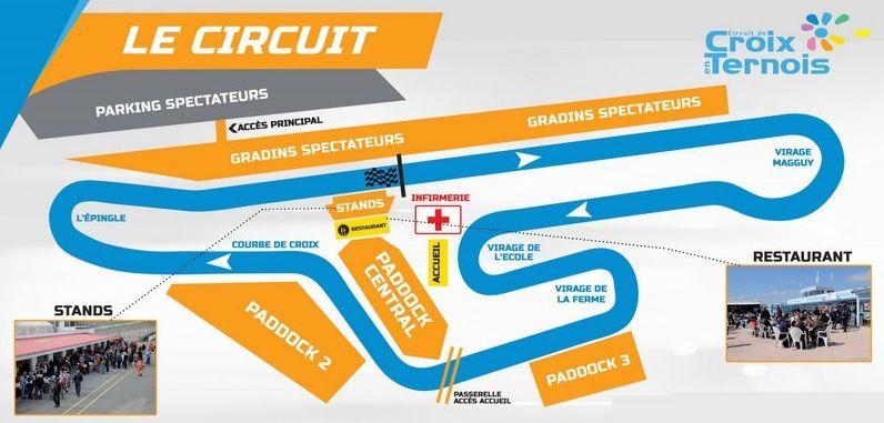Calendrier 2019 championnat de France de vitesse en motos anciennes