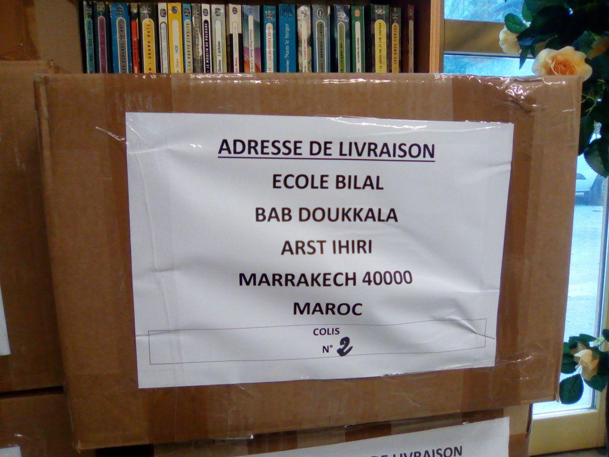 Départ pour Marrakech