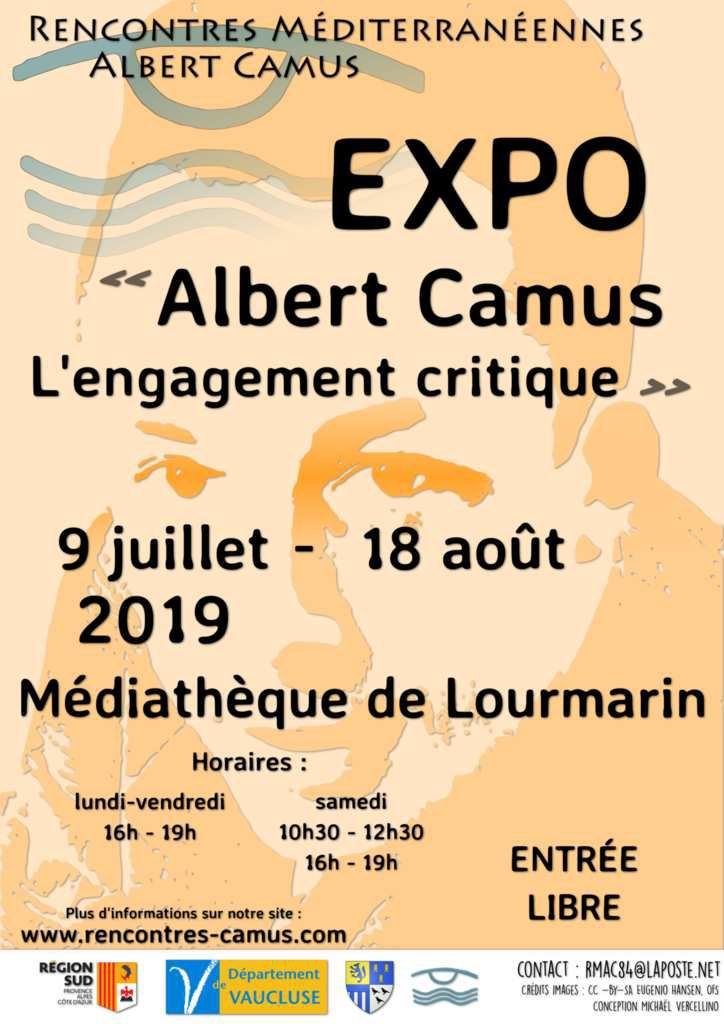 Affiche exposition 2019 - Mike Vercellino