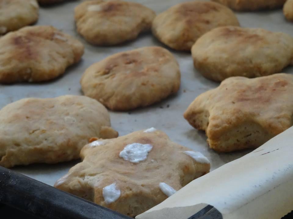 Recette : biscuits à la fleur d'oranger et au lait maternel