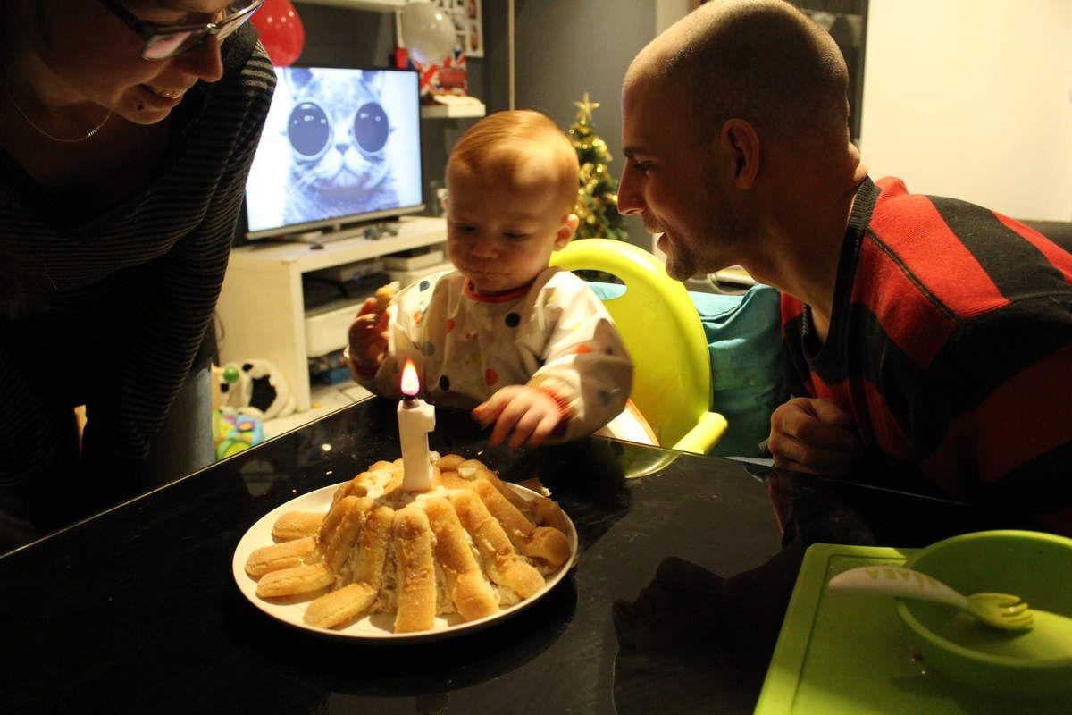 La recette du gâteau d'anniversaire pour les 1 an de Bébé