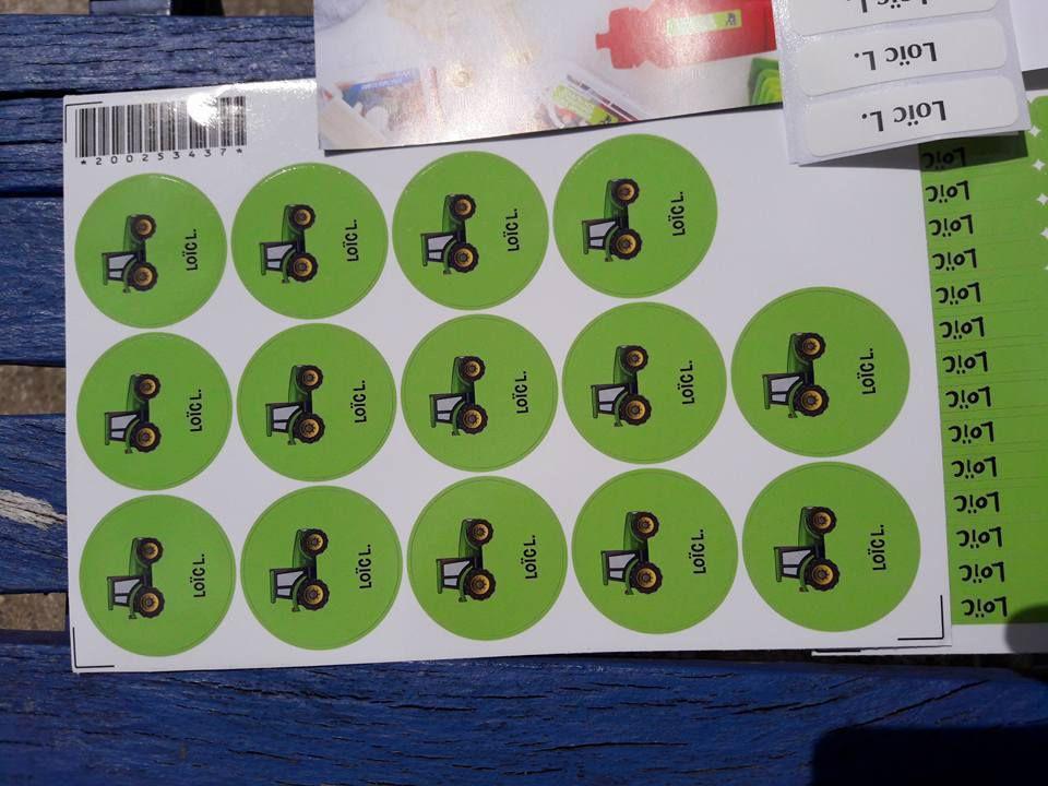 Test et avis : les étiquettes à personnaliser StickerKid ( + code promo)