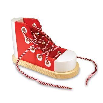 chaussure à lasser