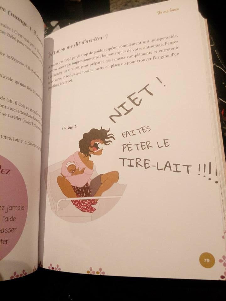 [livre] Le manuel très illustré de l'allaitement par Caroline Guillot (Tétées entétées)