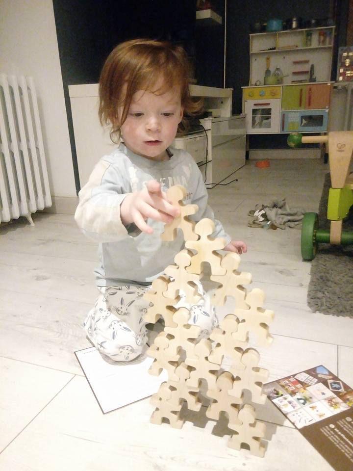 Test et avis : les Flockmen, jouets en bois naturel