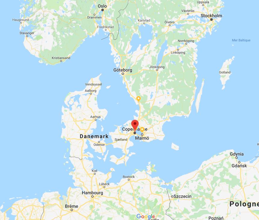 Copenhague en rouge