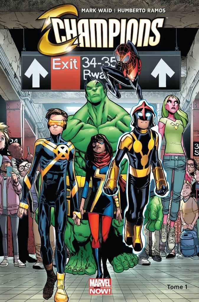Update Comics #4 : Les jeunes-héros Marvel