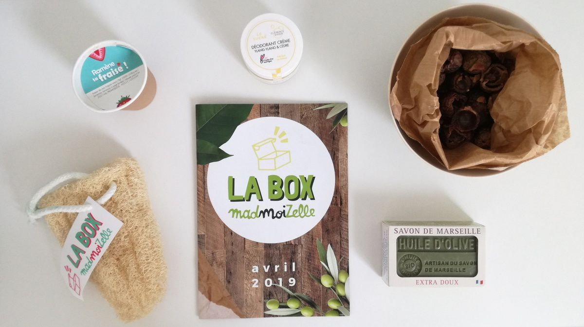 Box GREEN POWER Madmoizelle.Com (Avril 2019)