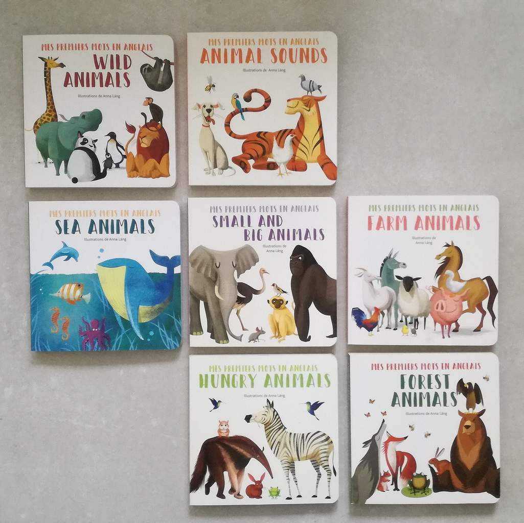 Livres Anglais-Français : Collection White Star Kids