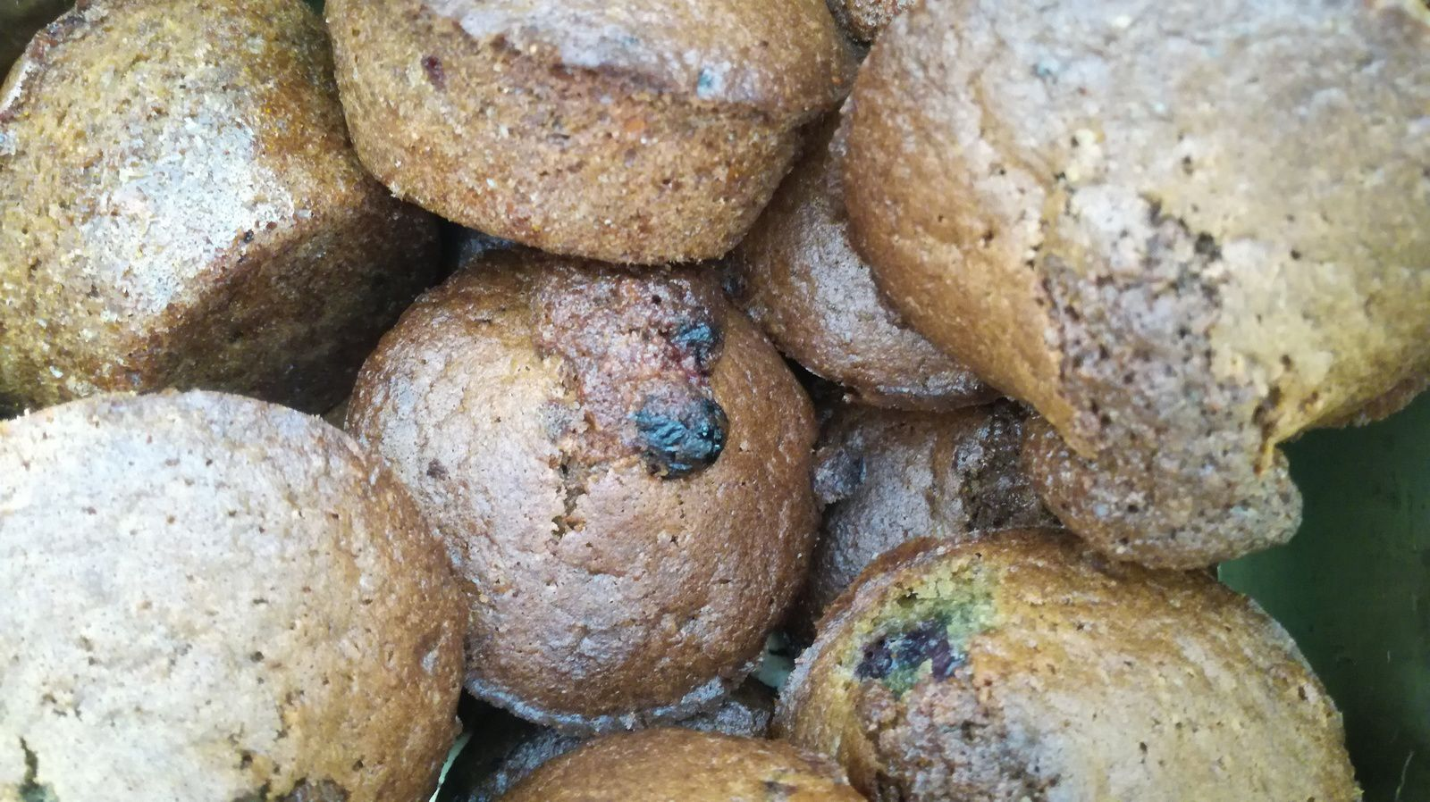 Excellents muffins aux fruits rouge