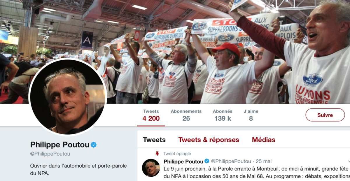 Twitter @PhilippePoutou