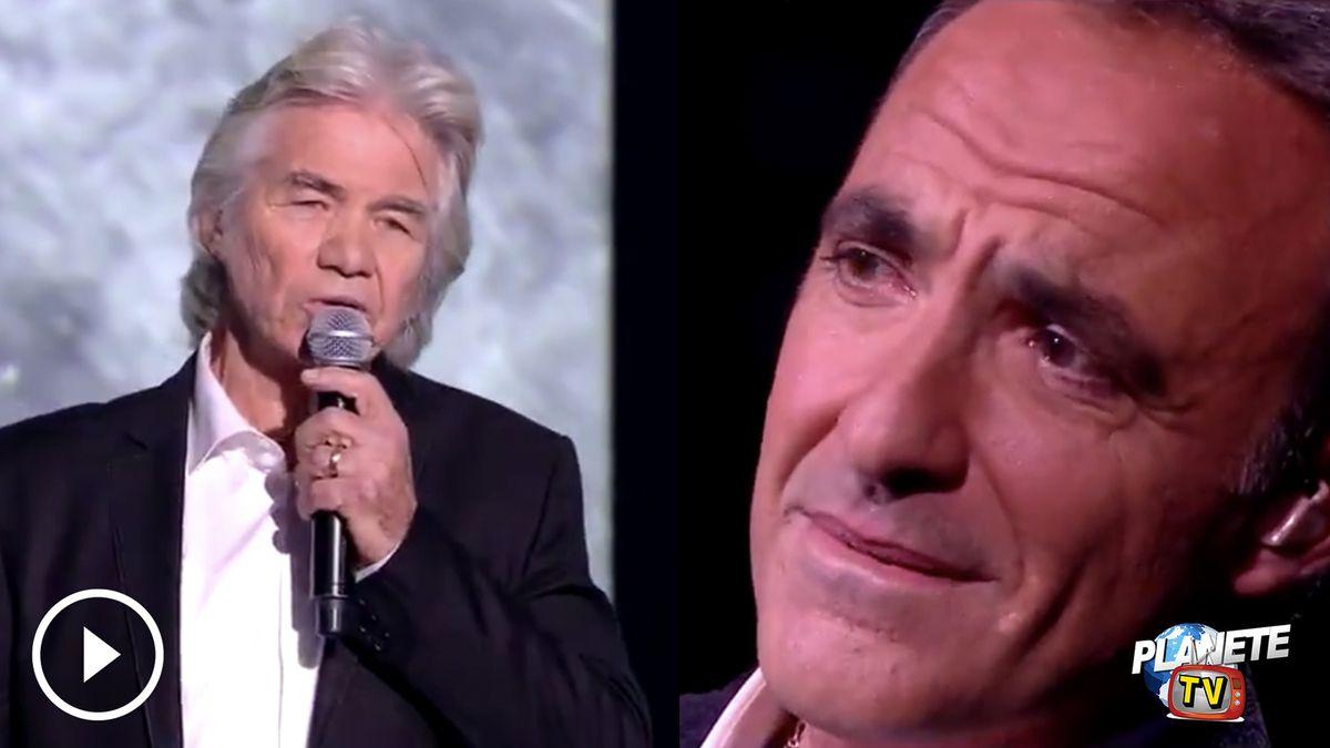 Nikos Aliagas fond en larmes devant l'interprétation de Mon Vieux par Daniel Guichard (Vidéo)