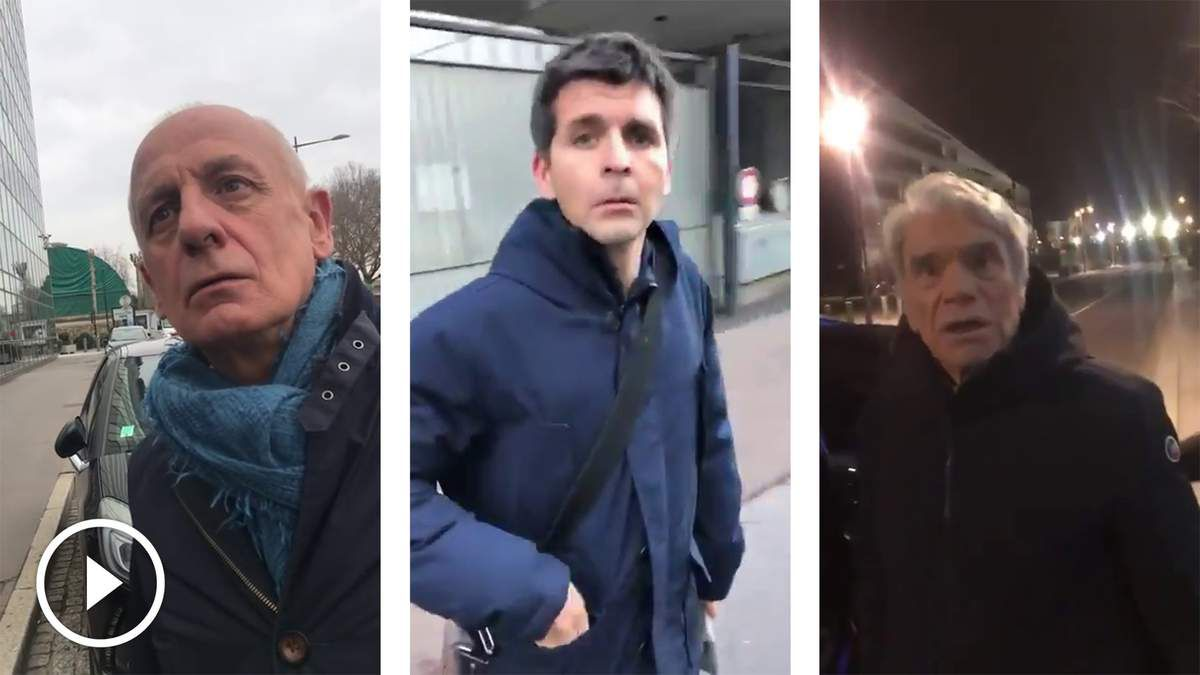 Jean-Michel Apathie, Thomas Sotto, Audrey Crespo Mara, Bernard Tapie