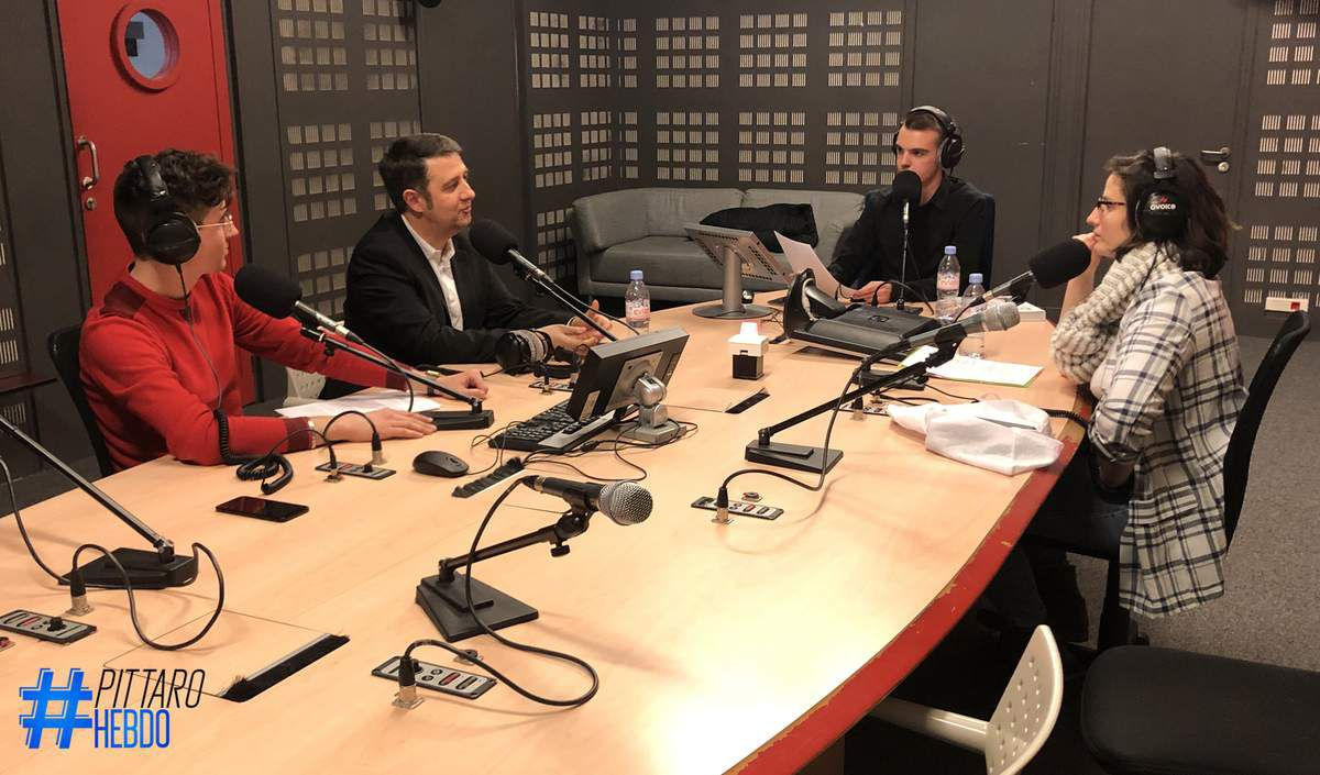 Guillaume Verheecke, Laurent Guimier, Tony Pittaro, Claire Pipolo