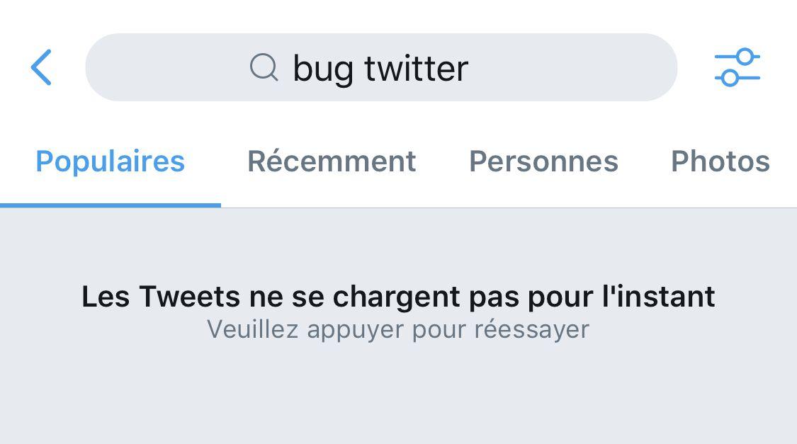 Bug, Twitter