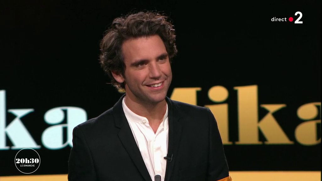 Mika, 20h30 Le Dimanche, France 2, interview, My name is Michael Holbrook, Fanny Ardant, download