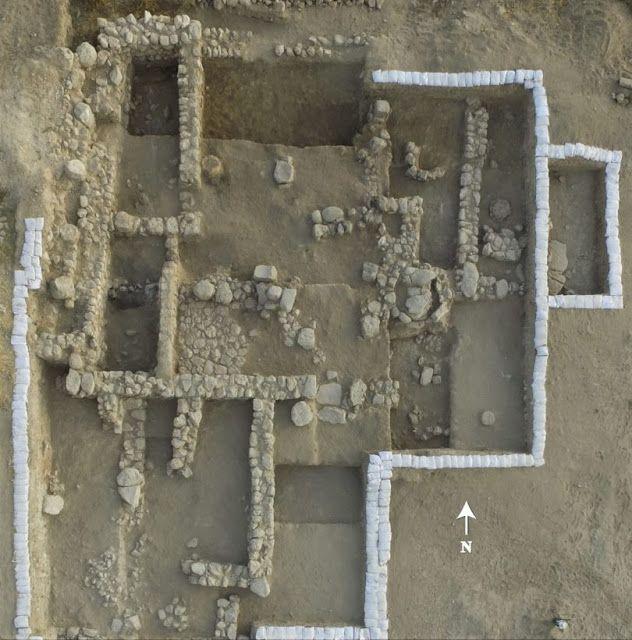 Vue aérienne de l'ancien temple - Crédit photo : Emil Eljem