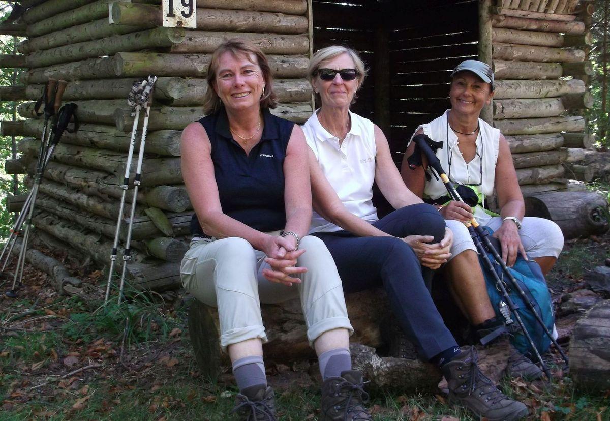 De gauche à droite, Carole, Odile et Joëlle, trois sympathiques Colmariennes.