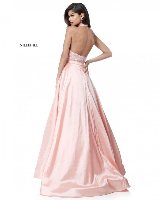 0be136b703 2018 Sherri Hill 51643 Blush Long Prom Dresses - cheap dresses prom 2016