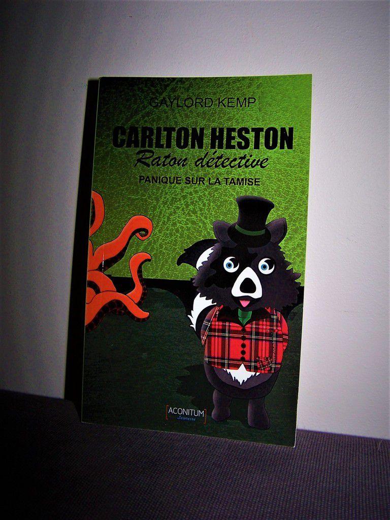 """Carlton Helston Raton Détective """"panique sur la tamise"""""""