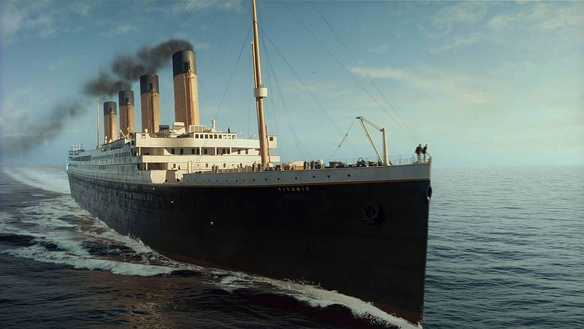 Le Titanic victime d'un mirage