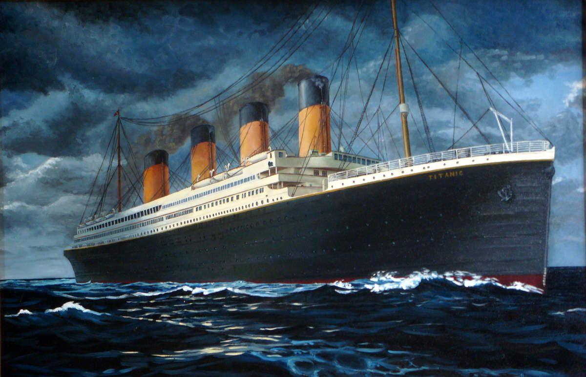 Le Titanic victime du feu et de la glace
