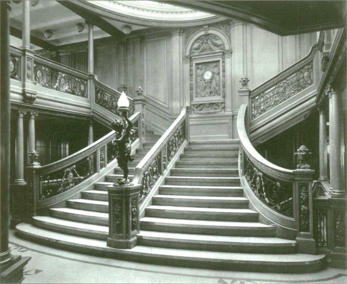 Qu'est-il arrivé au Grand Escalier du Titanic?