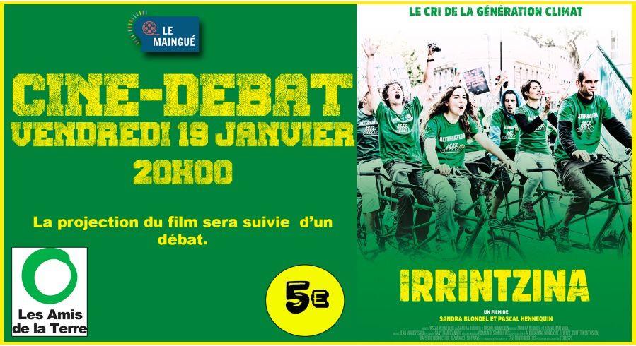 Soirée débat au cinéma Le Maingué