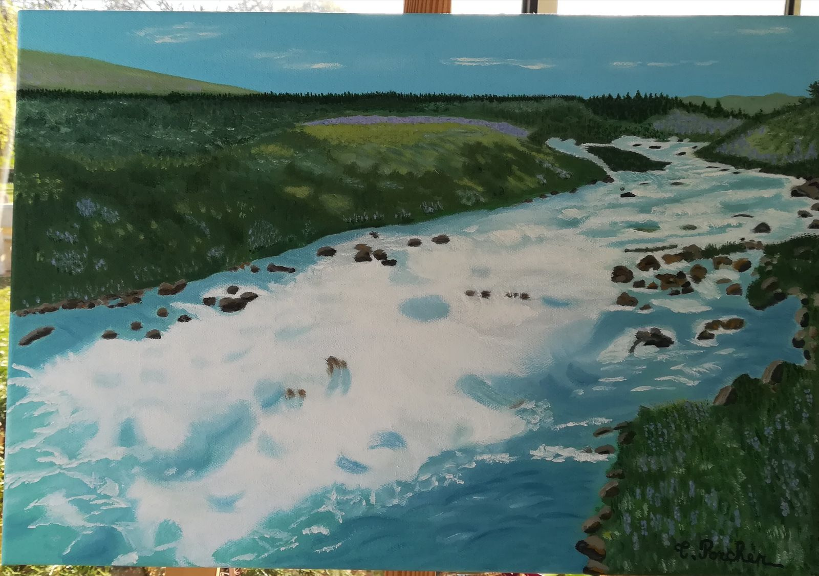 Rivière de Gullfoss