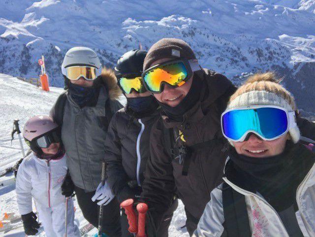 Mes petits exploits en ski