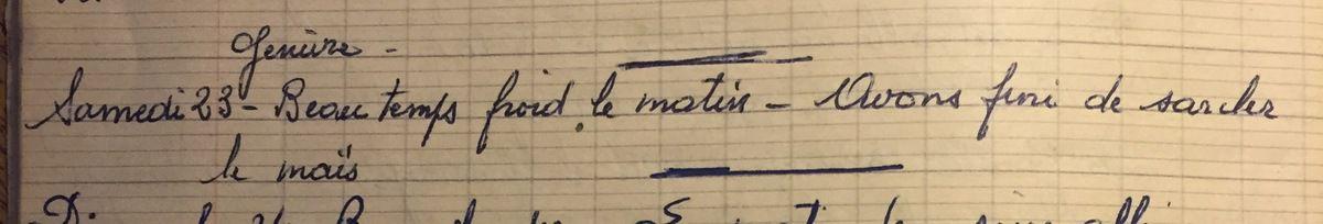 Samedi 23 juin 1956
