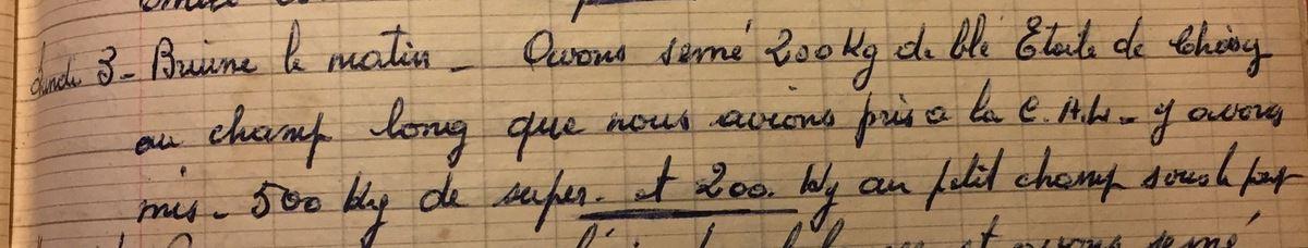 Lundi 3 décembre 1956 - Le retour de l'Etoile de Choisy