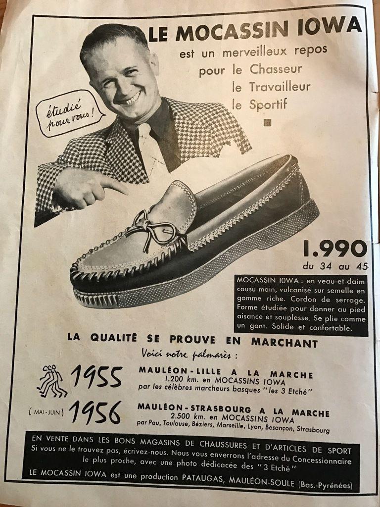 Dimanche 6 janvier 1957 - Acheter des sabots