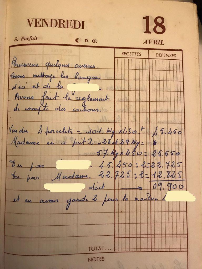 Vendredi 18 avril 1958 - Régler les comptes