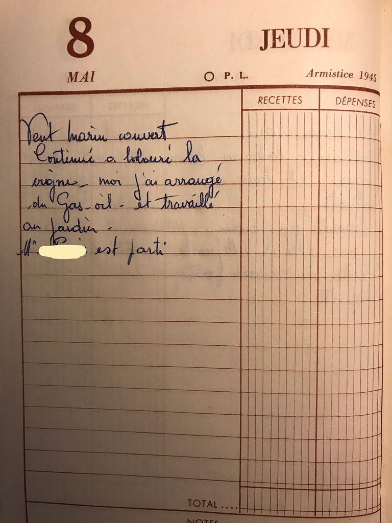 Jeudi 8 mai 1958 - le jardin
