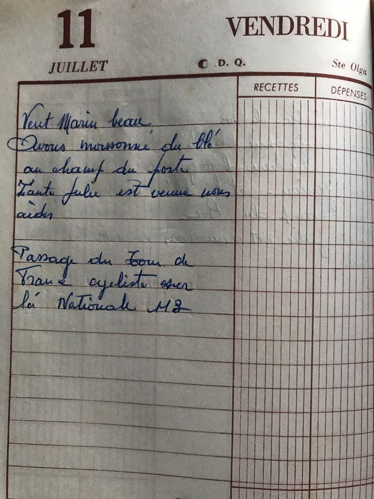 Vendredi 11 juillet 1958 - Le Tour de France dans le Lauragais