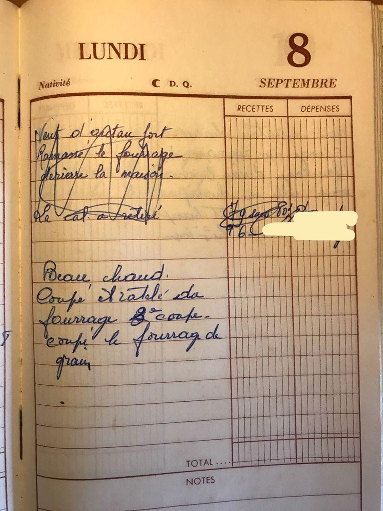 Lundi 8 septembre 1958 - Oups !