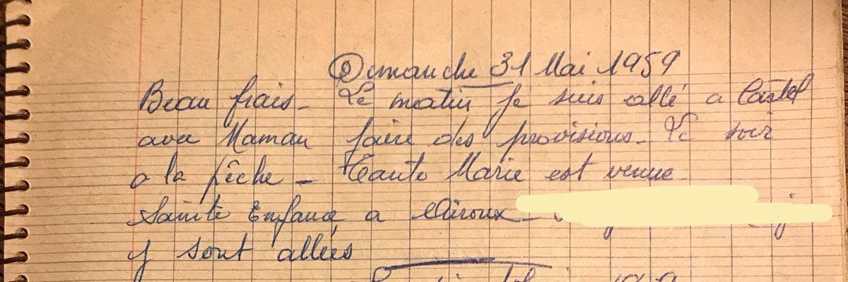 Dimanche 31 mai 1959 - La Sainte Enfance