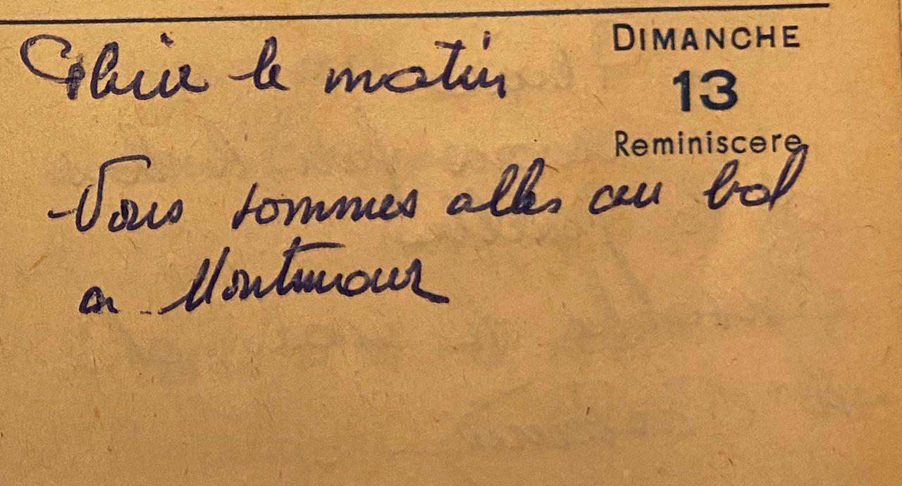 Dimanche 13 mars 1960 - un bal à Montmaur