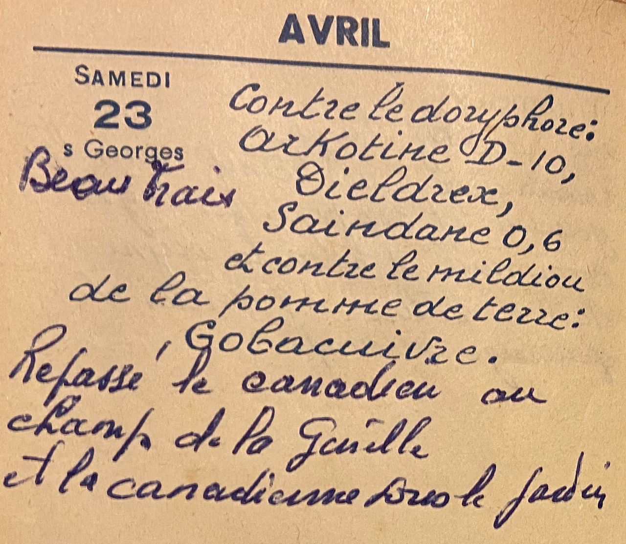 Vendredi 23 avril 1960 - le canadien et la canadienne